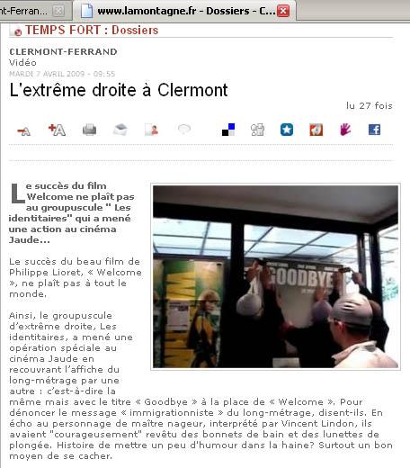 Les Identitaires sur LaMontagne.fr